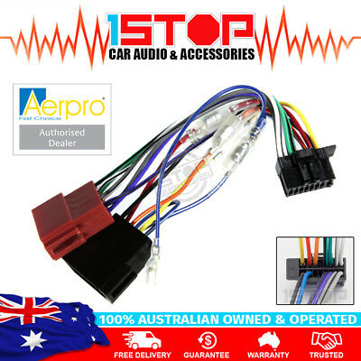 ISO WIRING HARNESS for PIONEER DEH-X4850BT DEH-X7850BT DEH-S4050BT DEH-S5050BT