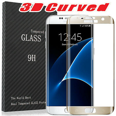 New Premium Tempered Glass Screen Protector for Samsung Galaxy S6 Note 5 S7 Edge
