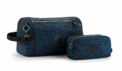KIPLING NEW TOILETRY BAG DUO Dragonfly K17149F85