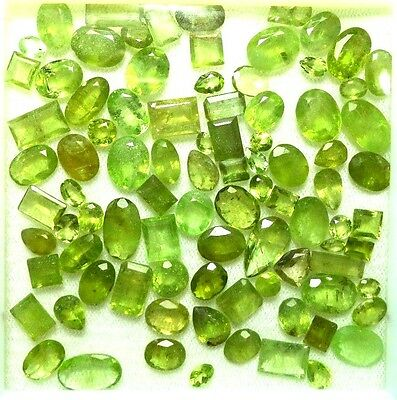 Natural 163.40 Carats Beautiful Peridot, 86 Pieces Lot @ Kohistan, Pakistan