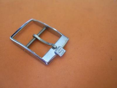 Vintage Nos 14Mm Sarcar Chrome Plated Watch Buckle                        *3226