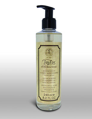 Taylor Of Old Bond Street Luxury Moisturising Sandalwood Hand Wash Soap 240ml