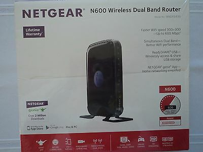 Home Office Student Room Netgear N600 Wireless Dual Band Router Retail Packaging