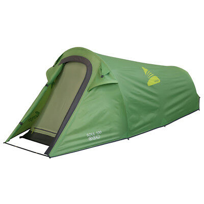 2017 Vango Soul 100 - Apple Green - 1 Person Tent (Vte-So100-M) Camping Hiking