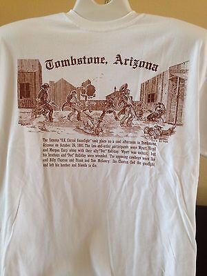 "Tombstone, AZ T-Shirt - ""OK Corral Gunfight""  (NEW)"