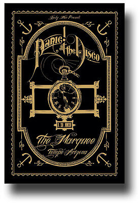 Panic! At The Disco Flyer - Concert Poster Panic Vices & Virtues Pretty Odd