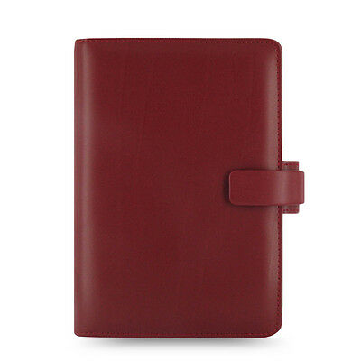 New Filofax Personal Size Metropol Organiser Planner Diary Red Leather -026910