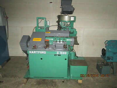 "3/16"" x 2 1/2"" HARTFORD Model 0-500 High Speed Thread Roller, With Feeder"