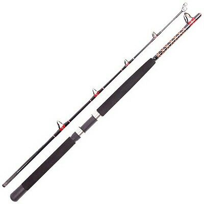 1.8m/5.9ft 2 Sections Extra Heavy Trolling / Jigging Boat Fishing Rod New