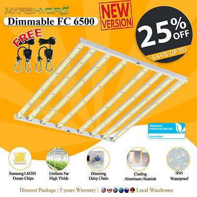 Mars Pro II 120 Led Grow Light Veg Flower Plant +4'×2'×6' Indoor Grow Tent Kit