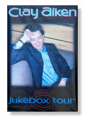 CLAY AIKEN! JUKEBOX TOUR PICTURE WALL POSTER NEW SEALED Buy one get one free!!!!