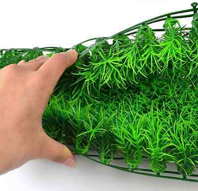 Artificial Water Aquatic Green Grass Plant Lawn Aquarium Fish Tank Landscape AV