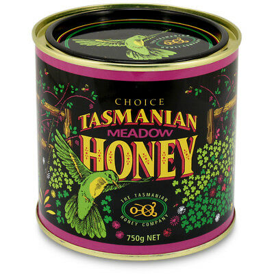 NEW Tasmanian Honey Meadow Honey 750g