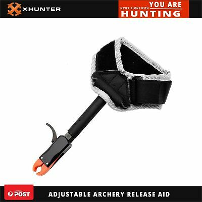 Xhunter Adjustable Archery Release Aid For Compound Bow Archery