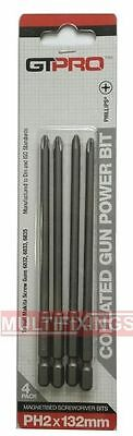 GTPRO replacement collated bits to suit Makita BFR450/DFR450 x 4pcs
