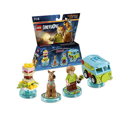 LEGO Dimensions Scooby Doo! Team Pack 71206 Fast Post Great Toy Great Value