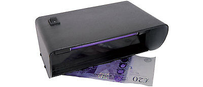 Uv Bank Note Checker Ultra Violet Light Forged Money Detector Counterfit Notes