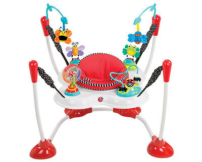 Sassy Inspire the Senses Bounce Around Activity Centre | Baby Bouncer with Toys