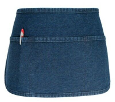 2 Fame Fabric F9 3 Pocket Denim Waist Aprons Round Bottom Super High Quality