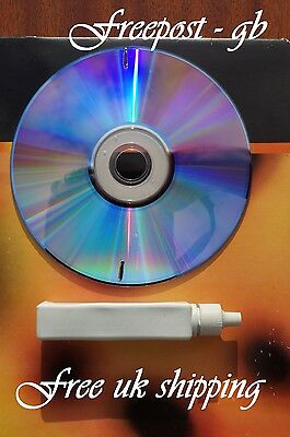 Wet Or Dry- Dvd & Blu-Ray/ Hd-Dvd Lens Cleaning Disc- Cleaner For The Laser