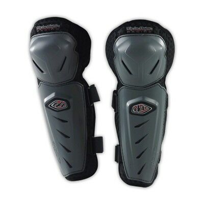 Troy Lee Designs NEW Mx TLD Grey Pair Dirt Bike Adult Motocross Knee Guards