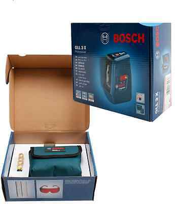 Brand new BOSCH GLL3X Professional Line Laser Level