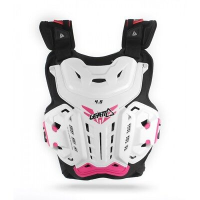Leatt NEW Ladies Mx 4.5 Jacki White Pink Motocross Protector Womens Body Armour