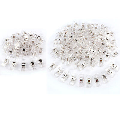Lot 50-100 Clear Wonder Clips for Fabric Quilting Craft Sewing Knitting Crochet