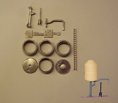 P&D Marsh N Gauge n Scale B111 GWR conical water tower kit requires painting