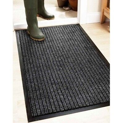 Grey Heavy Duty Industrial Quality Hardwearing Barrier Mat Entrance Mat Door Mat