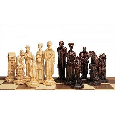 SAC A163 Antiqued Sherlock Holmes Chess set - NEW - board not included