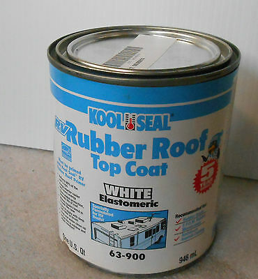 1 Gal Rubber Roof Coating For Rv Camper And Motor Home