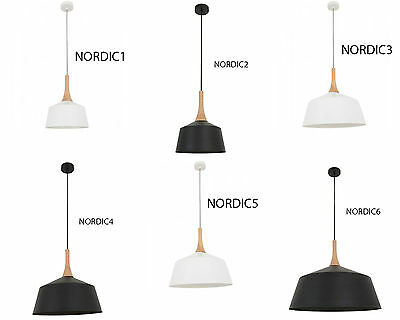 CLA  NORDIC Series Pendant ,Black Or White Different Size Options