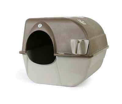 Omega Paw Roll N Clean Self Cleaning Cat Kitty Pet Litter Box -Large -NEW CANADA
