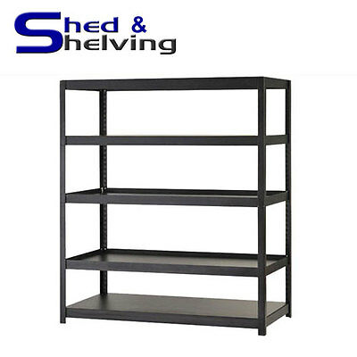 Rivet Boltless Shelving Racking Heavy Duty Shed Garage Storage unit NEW