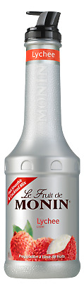 Le Fruit De Monin Lychee Fruit Puree 1L