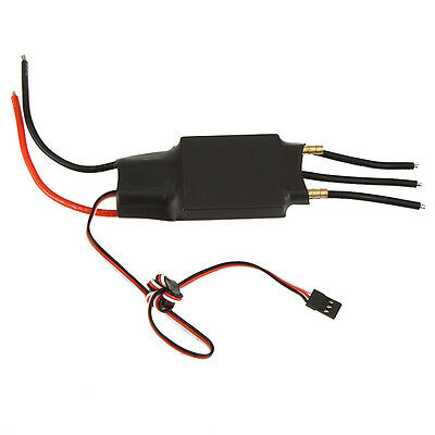 80A Water Cooling Brushless Electric Speed Controller ESC & 5V/5A SBEC for Boat