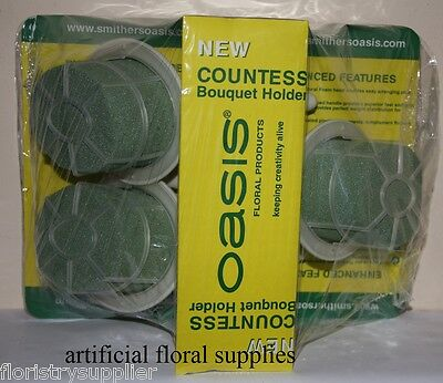 DRY COUNTESS wedding bouquet holders oasis foam ARTIFICIAL FLOWERS choose qty
