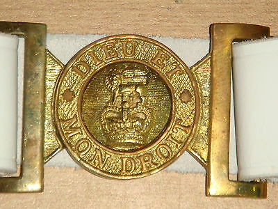 Royal British Army Warrant Class II Infantry Officers Leather Sword Belt | LB29W