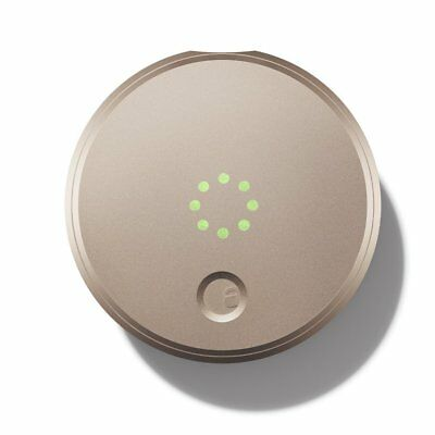 August Smart Lock - Keyless Home Entry with Your Smartphone [Champagne]