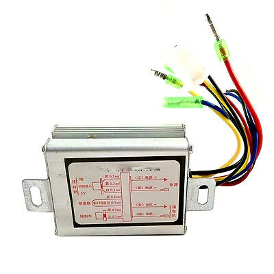 24V 250W Electric Speed Controller Box Brushed Brush Motor E-bike Scooter Hot