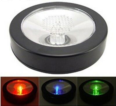 Cool Advanced LED Light Bottle Cup Mat Coaster Color Changing For Party Bars