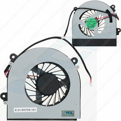 NEW CLEVO W350 W350ETQ W370 W230ST CPU Cooling Fan AB7905HX-DE3