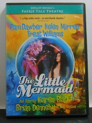 Faerie Tale Theatre - The Little Mermaid (DVD, 2004)