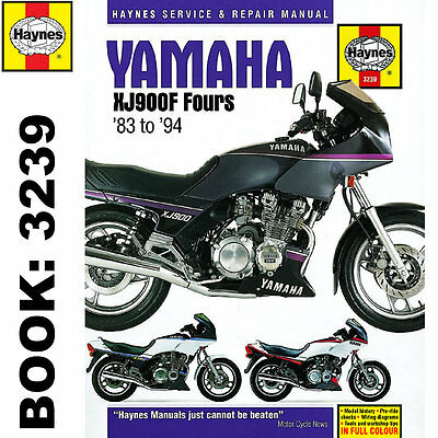 Yamaha XJ900F Fours 1983-94 Haynes Workshop Manual
