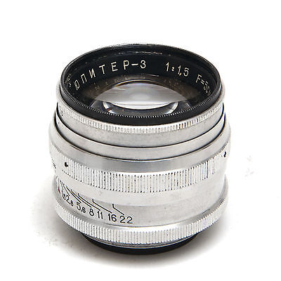 Jupiter-3 50mm 1:1.5, good condition