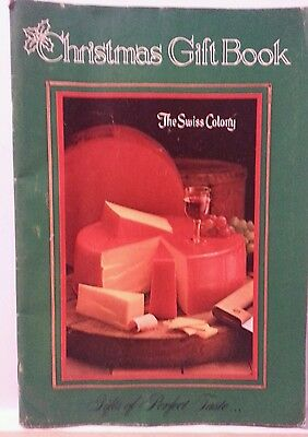 Christmas Gift Book-The Swiss Colony-1982