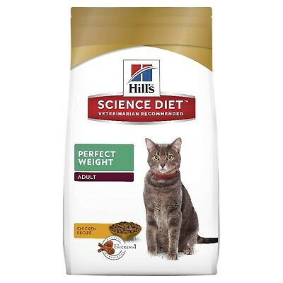Hills Science Diet Feline Adult Perfect Weight Dry Cat Food 3.17KG