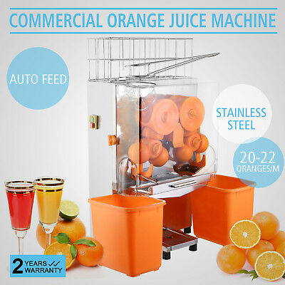 Pro Juice Commercial Auto Feed Orange Juicer Citrus Juice Machine Squeezer
