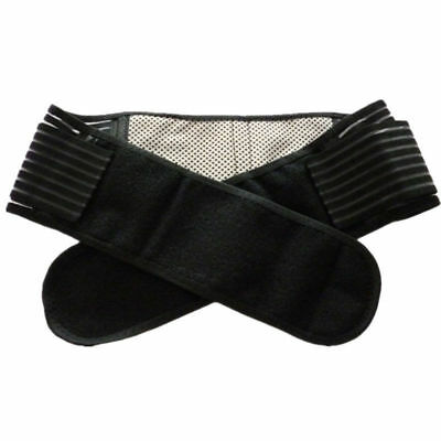 Tourmaline Self Heating 20 Magnetic Therapy Backache Lower Back Support Belt-UK
